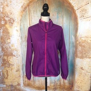 NOVARA Purple Lightweight Cycling Jacket XL